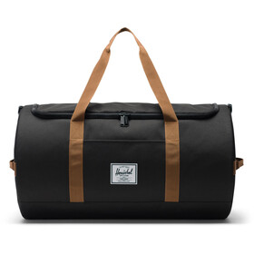Herschel Sutton Duffel, black/saddle brown